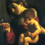 Guercino, Madonna del passero