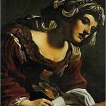 Guercino, Sibilla con cartiglio