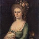 A. Crescimbeni, Ritratto di Teresa Campori