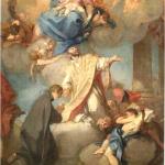 A. Balestra, Apparizione della Vergine col Bambino ai Santi Ignazio e Stanislao Kostka